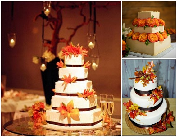 Fall wedding cakes or junglespirit Images