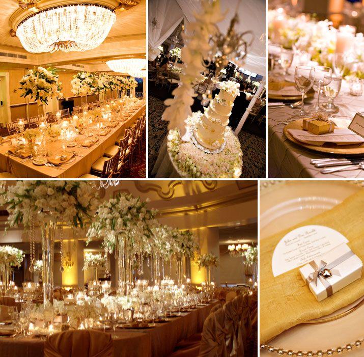 Golden Girls Theme Wedding Ideas: Gold Wedding Ideas