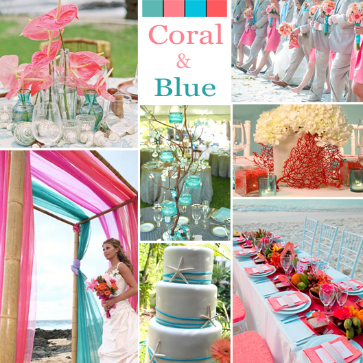 Coral Wedding Inspirations