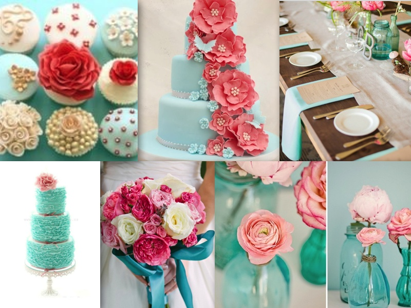 turquoise-coral-wedding-theme-2
