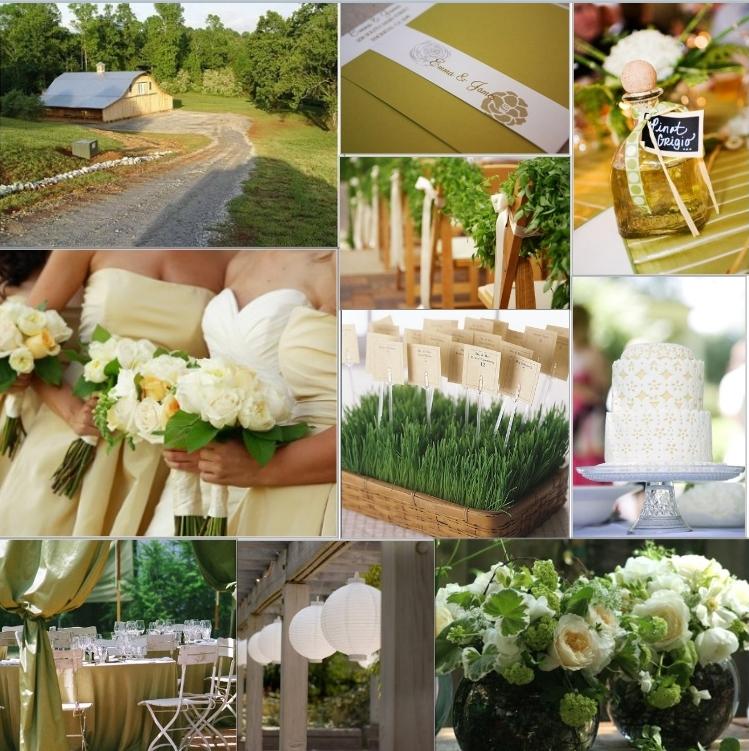 Wedding Theme Ideas 2013: Green Wedding Inspirations By K & K Designs