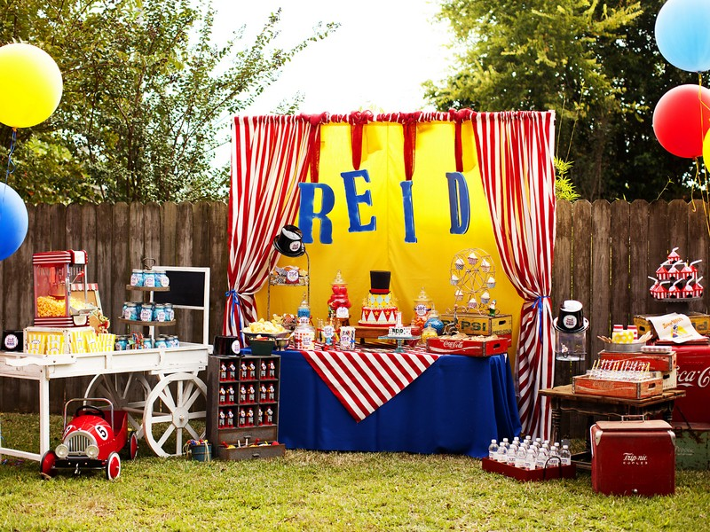 Sophi's 4th and Reid's 1st birthday parties by KN photography6